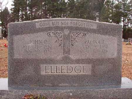 ELLEDGE, JOHN P - Columbia County, Arkansas   JOHN P ELLEDGE - Arkansas Gravestone Photos