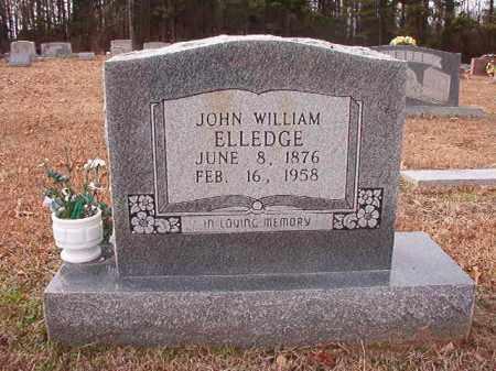 ELLEDGE, JOHN WILLIAM - Columbia County, Arkansas   JOHN WILLIAM ELLEDGE - Arkansas Gravestone Photos
