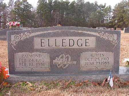 ELLEDGE, AUTEEN - Columbia County, Arkansas | AUTEEN ELLEDGE - Arkansas Gravestone Photos