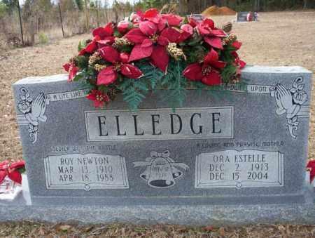 ELLEDGE, ORA ESTELLE - Columbia County, Arkansas   ORA ESTELLE ELLEDGE - Arkansas Gravestone Photos