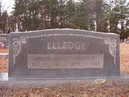 ELLEDGE, BELDY D - Columbia County, Arkansas | BELDY D ELLEDGE - Arkansas Gravestone Photos
