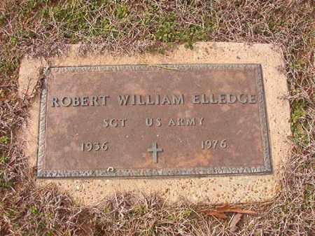 ELLEDGE (VETERAN), ROBERT WILLIAM - Columbia County, Arkansas | ROBERT WILLIAM ELLEDGE (VETERAN) - Arkansas Gravestone Photos
