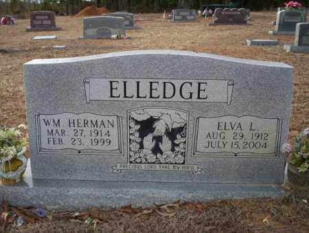 ELLEDGE, WM HERMAN - Columbia County, Arkansas   WM HERMAN ELLEDGE - Arkansas Gravestone Photos
