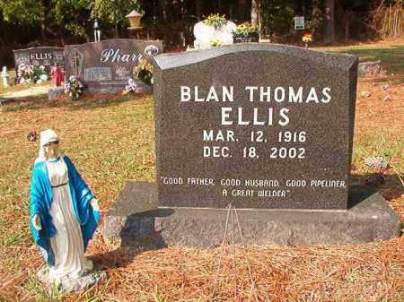 ELLIS, BLAN THOMAS - Columbia County, Arkansas   BLAN THOMAS ELLIS - Arkansas Gravestone Photos