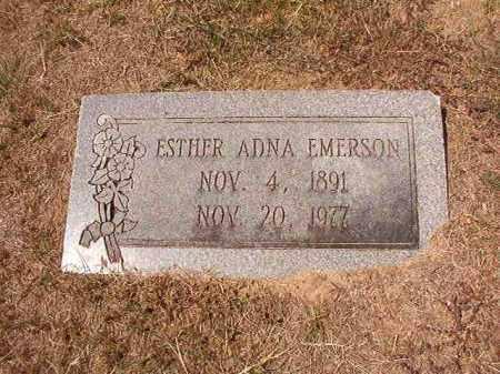 EMERSON, ESTHER ADNA - Columbia County, Arkansas | ESTHER ADNA EMERSON - Arkansas Gravestone Photos
