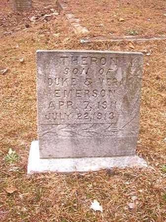 EMERSON, THERON - Columbia County, Arkansas   THERON EMERSON - Arkansas Gravestone Photos