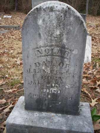 ENGLAND, NOLAR - Columbia County, Arkansas | NOLAR ENGLAND - Arkansas Gravestone Photos
