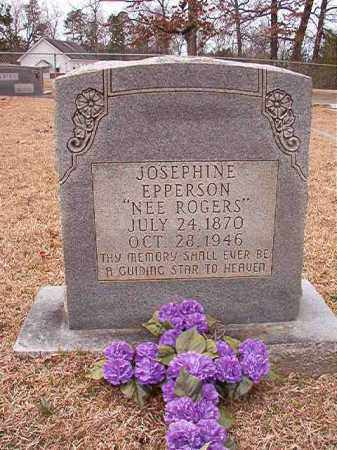 ROGERS EPPERSON, JOSEPHINE - Columbia County, Arkansas | JOSEPHINE ROGERS EPPERSON - Arkansas Gravestone Photos