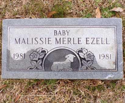 EZELL, MALISSIE MERLE - Columbia County, Arkansas | MALISSIE MERLE EZELL - Arkansas Gravestone Photos