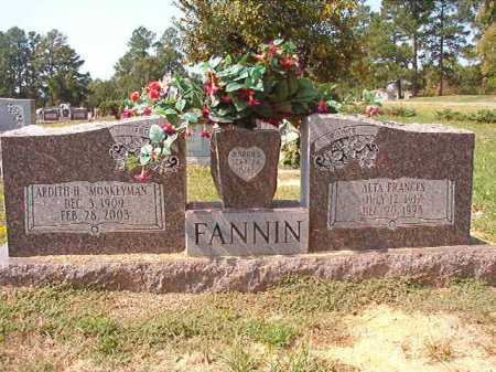 "FANNIN, ARDITH H ""MONKEYMAN"" - Columbia County, Arkansas 