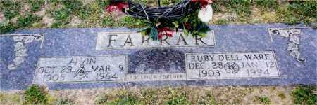 FARRAR, ALVIN - Columbia County, Arkansas | ALVIN FARRAR - Arkansas Gravestone Photos