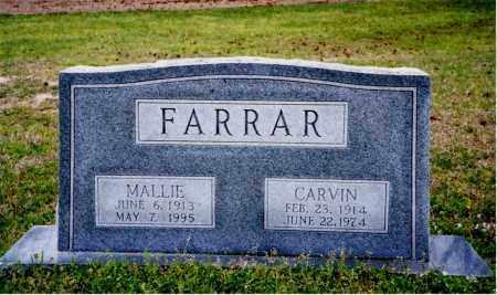 FARRAF, CARVIN - Columbia County, Arkansas | CARVIN FARRAF - Arkansas Gravestone Photos