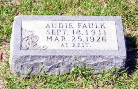 FAULK, AUDIE - Columbia County, Arkansas | AUDIE FAULK - Arkansas Gravestone Photos