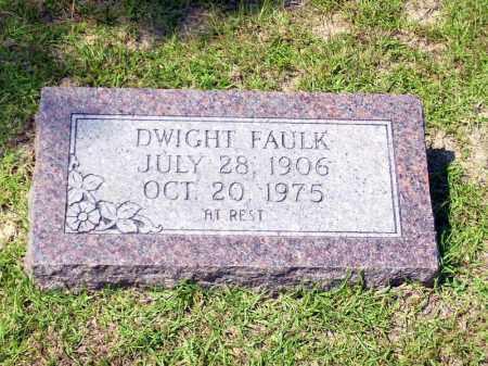 FAULK, DWIGHT - Columbia County, Arkansas | DWIGHT FAULK - Arkansas Gravestone Photos