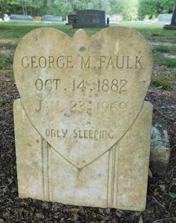 FAULK, GEORGE M - Columbia County, Arkansas | GEORGE M FAULK - Arkansas Gravestone Photos