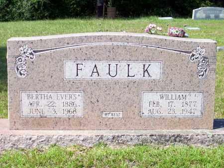 EVERS FAULK, SARAH BERTHA - Columbia County, Arkansas | SARAH BERTHA EVERS FAULK - Arkansas Gravestone Photos