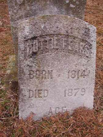 FEARS, LOTTIE - Columbia County, Arkansas   LOTTIE FEARS - Arkansas Gravestone Photos