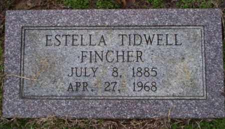 TIDWELL FINCHER, ESTELLA - Columbia County, Arkansas | ESTELLA TIDWELL FINCHER - Arkansas Gravestone Photos