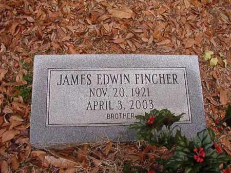 FINCHER, JAMES EDWIN - Columbia County, Arkansas   JAMES EDWIN FINCHER - Arkansas Gravestone Photos