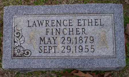 FINCHER, LAWRENCE ETHEL - Columbia County, Arkansas   LAWRENCE ETHEL FINCHER - Arkansas Gravestone Photos