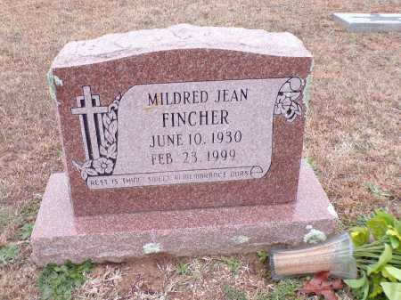 FINCHER, MILDRED JEAN - Columbia County, Arkansas   MILDRED JEAN FINCHER - Arkansas Gravestone Photos