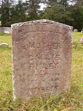 FINLEY, CALLIE - Columbia County, Arkansas | CALLIE FINLEY - Arkansas Gravestone Photos
