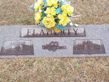 FLAHERTY, ARTHUR - Columbia County, Arkansas | ARTHUR FLAHERTY - Arkansas Gravestone Photos