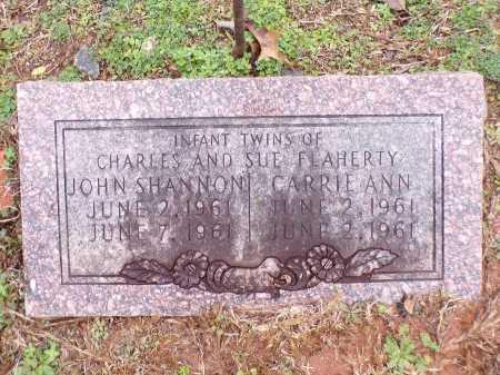 FLAHERTY, JOHN SHANNON - Columbia County, Arkansas   JOHN SHANNON FLAHERTY - Arkansas Gravestone Photos