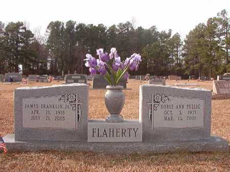 FLAHERTY, JR, JAMES FRANKLIN - Columbia County, Arkansas | JAMES FRANKLIN FLAHERTY, JR - Arkansas Gravestone Photos