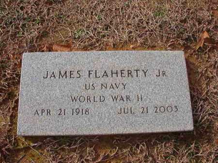 FLAHERTY, JR (VETERAN WWII), JAMES - Columbia County, Arkansas   JAMES FLAHERTY, JR (VETERAN WWII) - Arkansas Gravestone Photos
