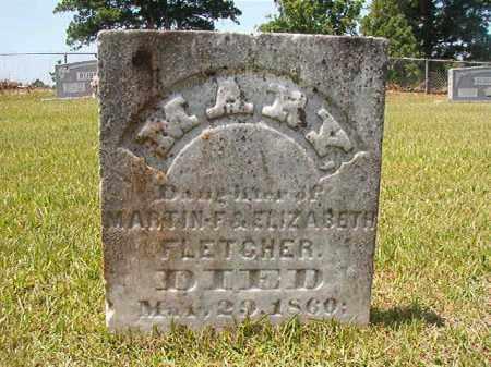 FLETCHER, MARY - Columbia County, Arkansas   MARY FLETCHER - Arkansas Gravestone Photos