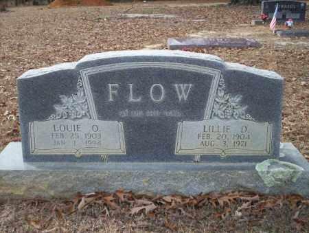 FLOW, LILLIE D - Columbia County, Arkansas   LILLIE D FLOW - Arkansas Gravestone Photos