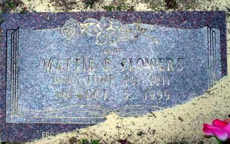 FLOWERS, MATTIE B - Columbia County, Arkansas   MATTIE B FLOWERS - Arkansas Gravestone Photos