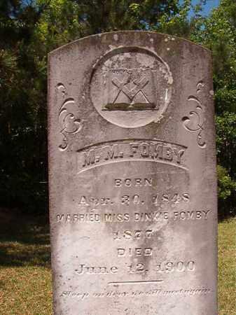 FOMBY, MICHAEL M - Columbia County, Arkansas   MICHAEL M FOMBY - Arkansas Gravestone Photos