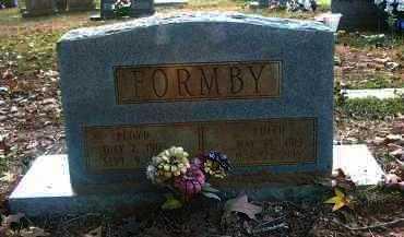 SPARROW FORMBY, EDITH - Columbia County, Arkansas | EDITH SPARROW FORMBY - Arkansas Gravestone Photos