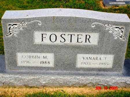 FOSTER, VANARA T. - Columbia County, Arkansas | VANARA T. FOSTER - Arkansas Gravestone Photos