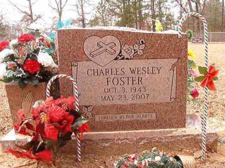 FOSTER, CHARLES WESLEY - Columbia County, Arkansas | CHARLES WESLEY FOSTER - Arkansas Gravestone Photos