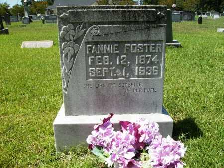 FOSTER, FANNIE - Columbia County, Arkansas | FANNIE FOSTER - Arkansas Gravestone Photos