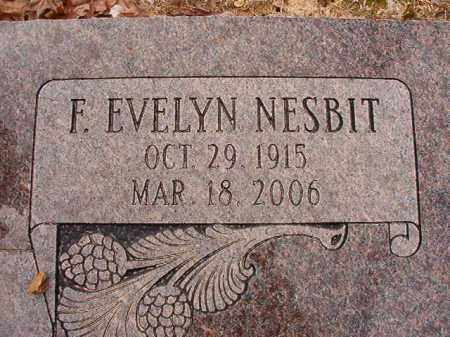 NESBIT FOSTER, F EVELYN - Columbia County, Arkansas | F EVELYN NESBIT FOSTER - Arkansas Gravestone Photos