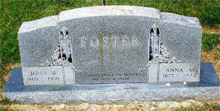 FOSTER, JOHN M. - Columbia County, Arkansas | JOHN M. FOSTER - Arkansas Gravestone Photos