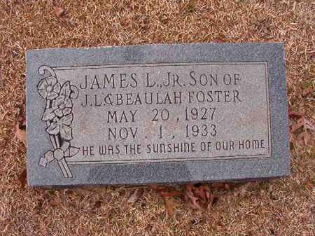FOSTER, JR, JAMES L - Columbia County, Arkansas | JAMES L FOSTER, JR - Arkansas Gravestone Photos