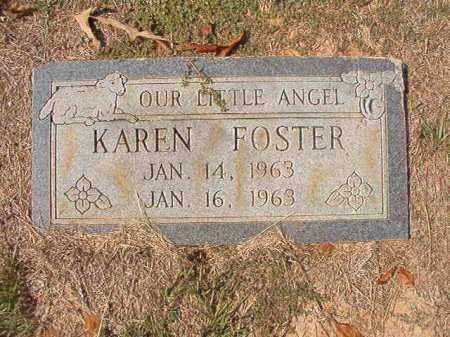 FOSTER, KAREN - Columbia County, Arkansas | KAREN FOSTER - Arkansas Gravestone Photos