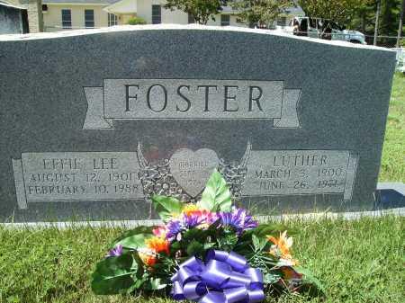 FOSTER, LUTHER - Columbia County, Arkansas | LUTHER FOSTER - Arkansas Gravestone Photos