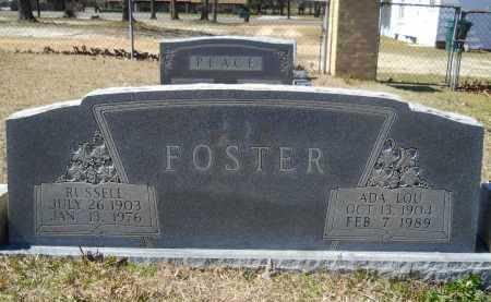 FOSTER, RUSSELL - Columbia County, Arkansas | RUSSELL FOSTER - Arkansas Gravestone Photos