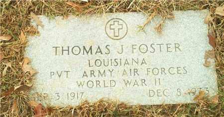 FOSTER (VETERAN WWII), THOMAS J - Columbia County, Arkansas | THOMAS J FOSTER (VETERAN WWII) - Arkansas Gravestone Photos