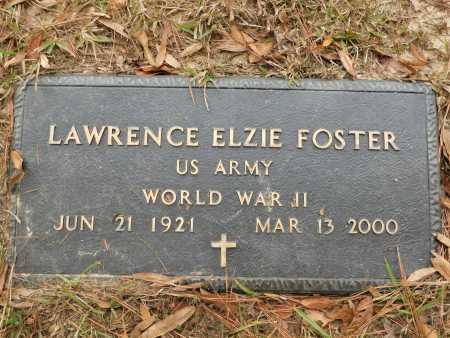 FOSTER (VETERAN WWII), LAWRENCE ELZIE - Columbia County, Arkansas | LAWRENCE ELZIE FOSTER (VETERAN WWII) - Arkansas Gravestone Photos