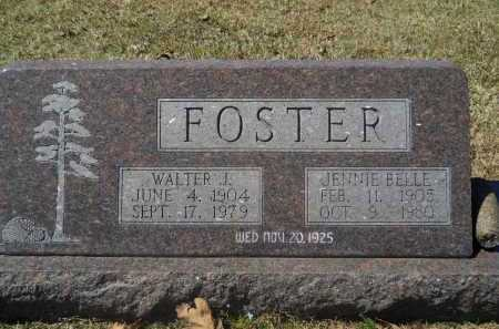 FOSTER, WALTER J. - Columbia County, Arkansas | WALTER J. FOSTER - Arkansas Gravestone Photos
