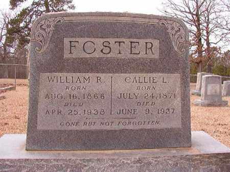 FOSTER, CALLIE L - Columbia County, Arkansas | CALLIE L FOSTER - Arkansas Gravestone Photos