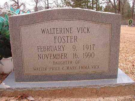 FOSTER, WALTERINE - Columbia County, Arkansas   WALTERINE FOSTER - Arkansas Gravestone Photos