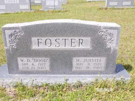 "FOSTER, W.D. ""DOOD"" - Columbia County, Arkansas | W.D. ""DOOD"" FOSTER - Arkansas Gravestone Photos"